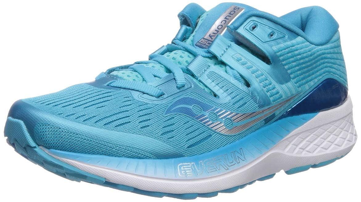 Bleu turquoise blanc Saucony Ride Ride ISO, Chaussures de FonctionneHommest pour Femme  vendre comme des petits pains