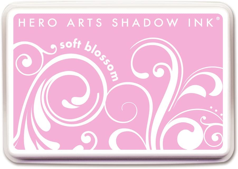 Hero Arts Rubber Stamps Shadow Ink Soft Blossom