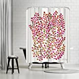 LIVE life creatively with this stunning shower curtain from our exclusive artists collection.. fun, sweet and oh-so chic. This shower curtain is the perfect way to celebrate your impeccable style and breathe new life into your washroom.Use of...