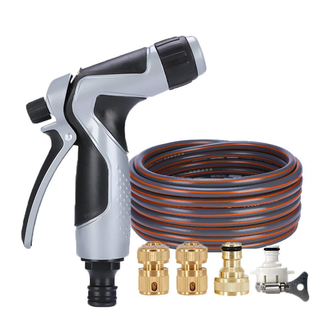Autolavaggio Pistola ad acqua Garden Hose Multi-funzione irrigazione a prova di giardinaggio annaffiamento Pet doccia irrigazione   pulizia della casa (dimensioni   15m)