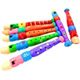 JETTINGBUY WOODEN PICCOLO FLUTE WHISTLE TOY BOY GIRL XMAS GIFT BIRTHDAY PARTY MUSICAL TOY