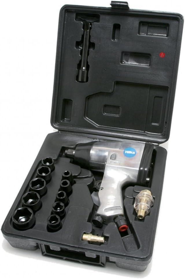 1//2 Hilka 85151617 Set de llaves de trinquete de aire