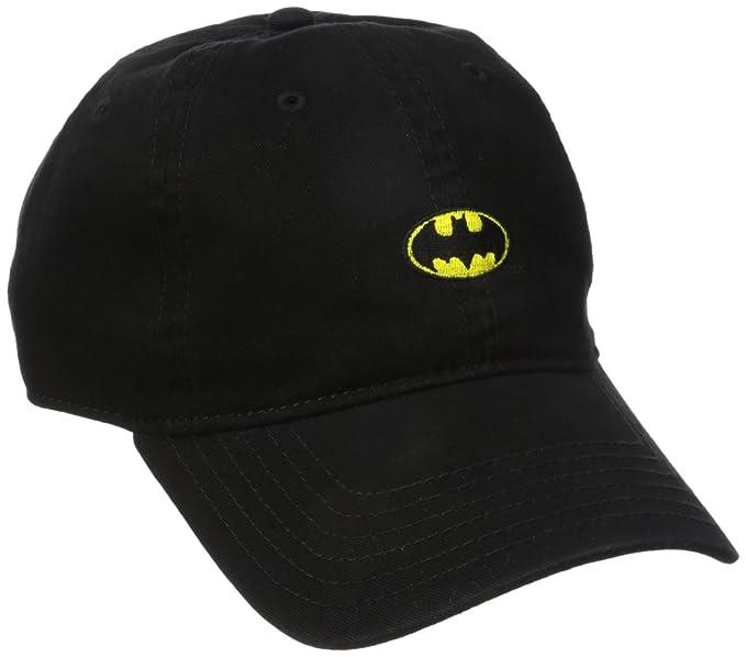 9103c27e3f Amazon.com  Batman Men s Washed Twill Baseball Cap