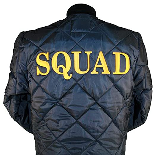 Chicago Fire Department Quilted Squad Jacket At Amazon Men S