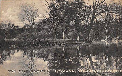 Old Camping Ground Bloomingburg, New York, Postcard