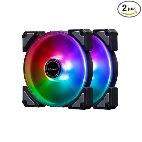 Amazon.com: InWin Crown AC140 Addressable RGB Twin Fan Kit ...