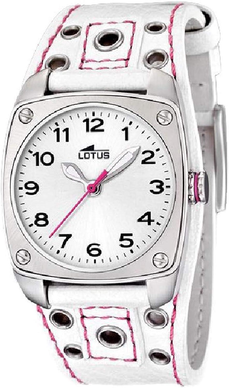 Lotus Ladies Reloj para Mujer Analógico de Cuarzo con Brazalete de Piel de Vaca 15735/6