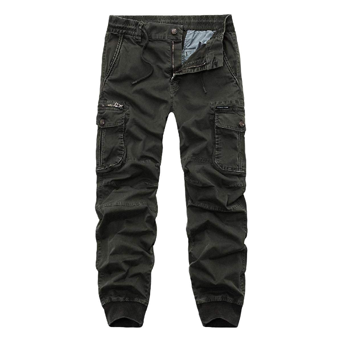 Abetteric Mens Casual Pant Oversized Premium Hipster Wild Cargo Pants