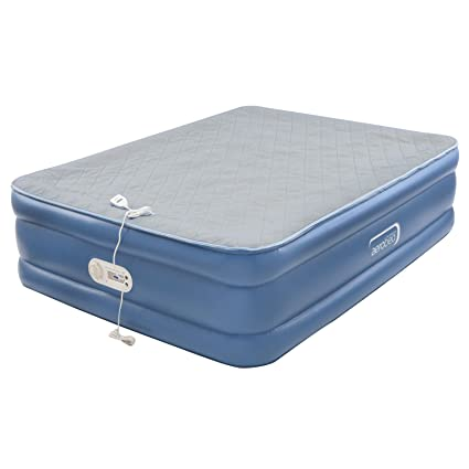 Amazoncom Aerobed Air Mattress With Built In Pump Air Bed With
