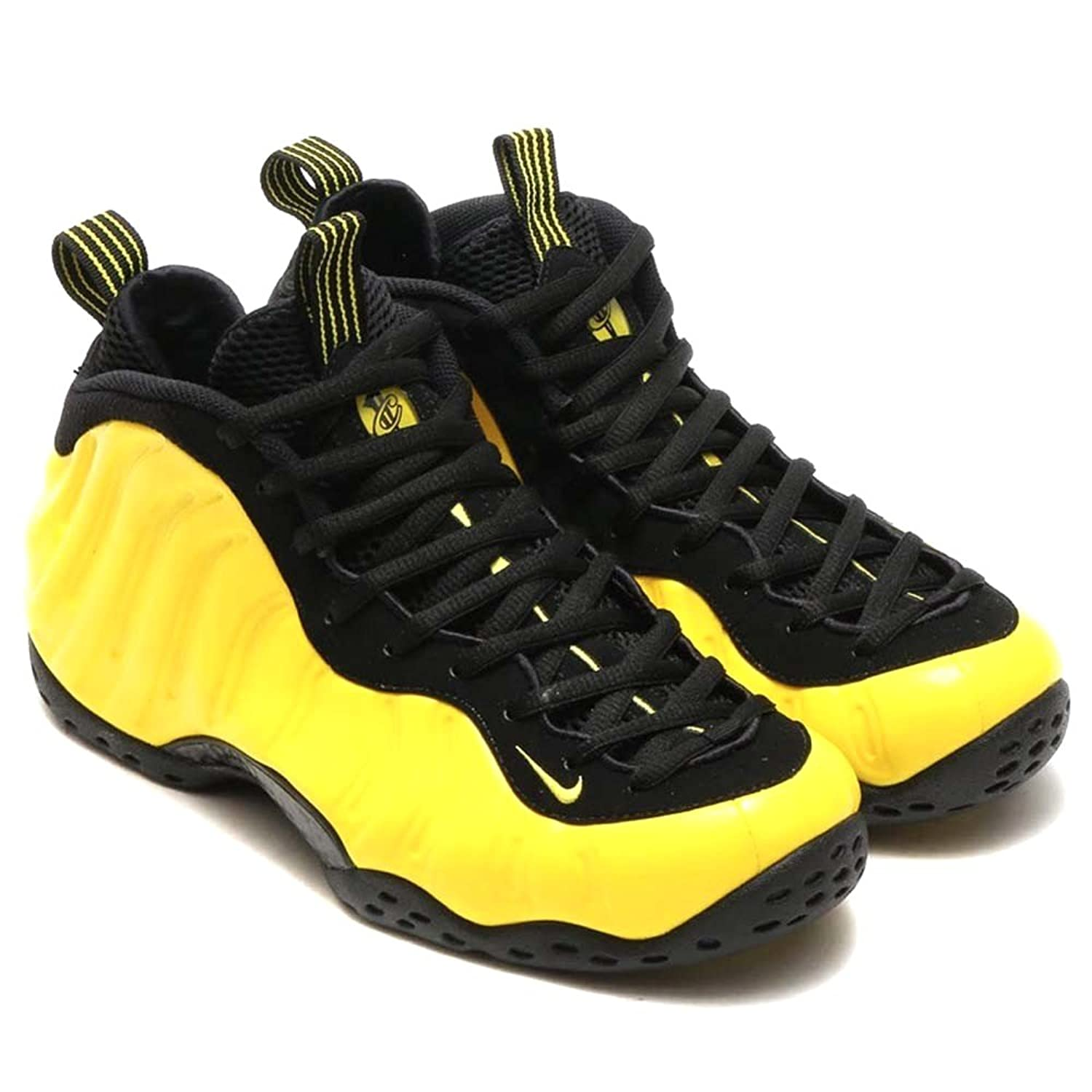 Amazon.com | Jordan Nike Mens Air Foamposite One Wu-Tang Optic yellow/Black  Synthetic Size 10.5 | Basketball
