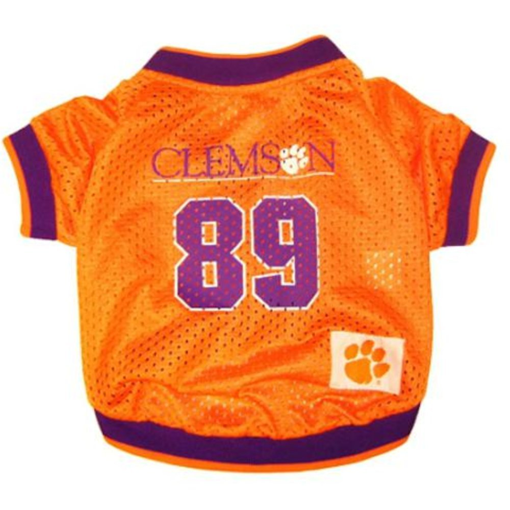 Clemson Univ. s Clemson Univ. s Pets First NCAA Dog Jersey, Small, Clemson University Tigers