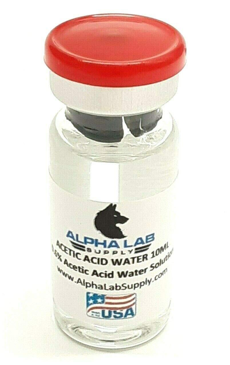 Acetic Acid 0.6% Water Solution - 10mL