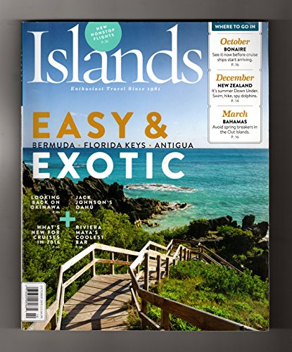 Islands - Enthusiast Travel Since 1981. Oct., 2015. Bermuda; Okinawa; Oahu; Rivera Maya;Caribbean; Florida Keys; Elephant Bath; Faroe Islands; Maui; Grenada; Jumby Bay, Antigua;Cayman Lemonade