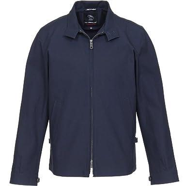 Fox Umbrellas Cotton Harrington Jacket: Navy