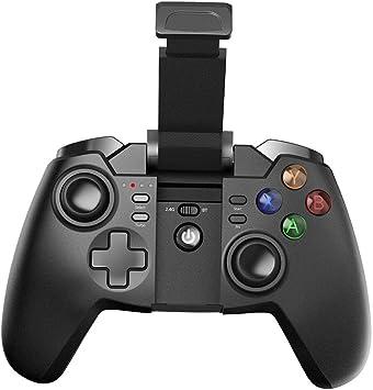 Tronsmart G02 Mando inalámbrico, Controlador Gamepad Bluetooth para Dispositivo Android, PS3, PC, TV (Box y Smart TV) y más -Negro: Amazon.es: Electrónica