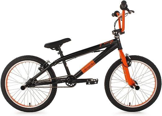 KS Cycling BMX Freestyle G-Surge - Bicileta BMX, para todas las medidas a partir de 135 cm, color naranja/negro: Amazon.es: Deportes y aire libre