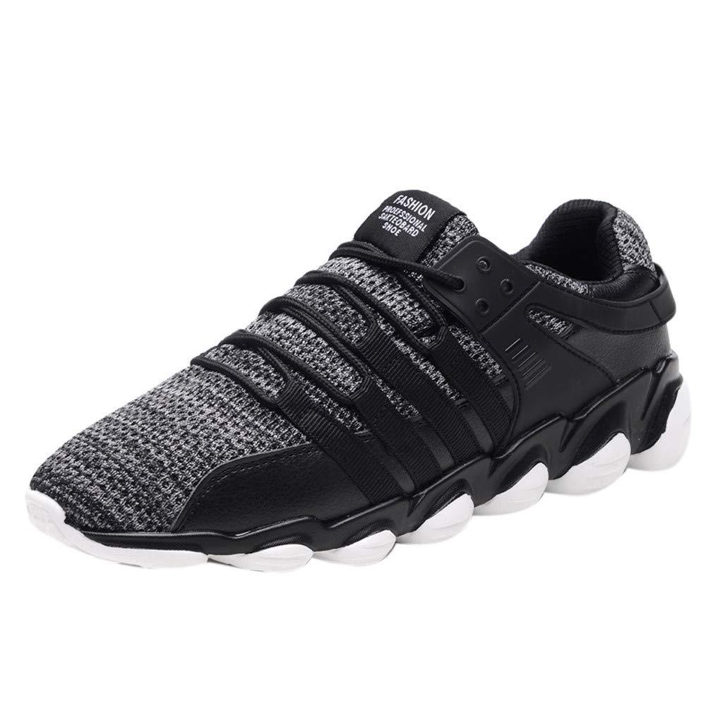 Logobeing Zapatillas Hombre Zapatillas Running Hombre Aire Libre y Deporte Adultos Sneakers Zapatillas Deportivas Hombre de Cordones para Correr