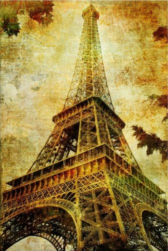 Paris Eiffel Tower, Cities USA Design for Home Decor