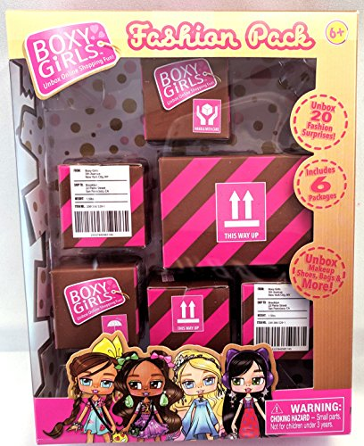 Fashion Pack for Boxy Girls 6 packages