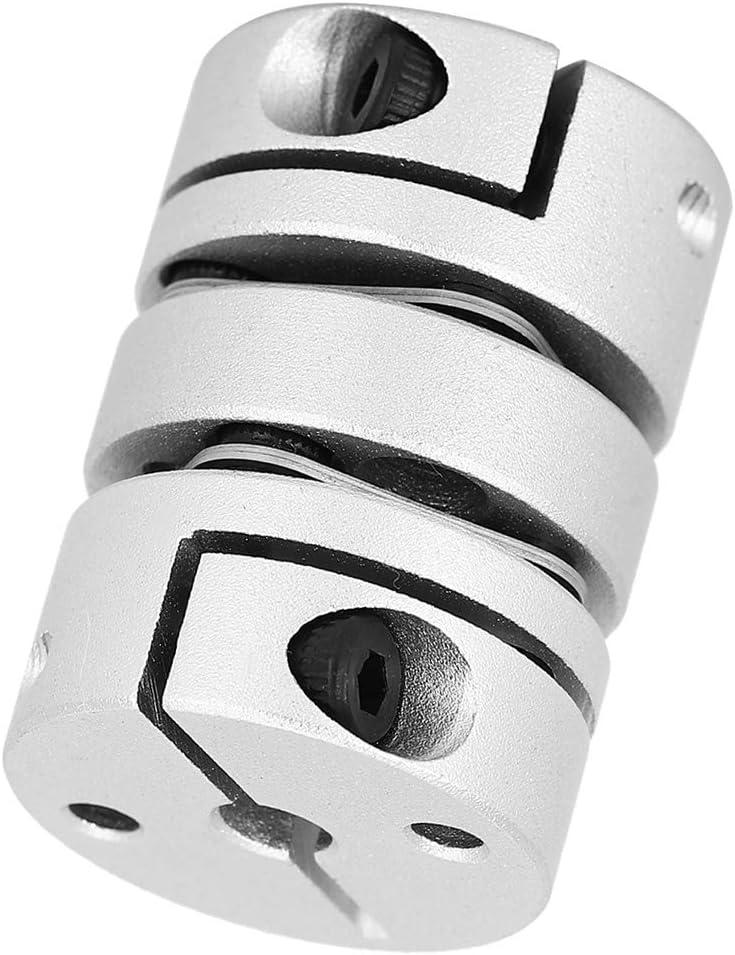 Coupler Shaft Sleeve Aluminum Alloy GL-19 x 27-4 x 4 Coupling Motor Connector Steering Connector Adapter for Motor Shaft Model Motor