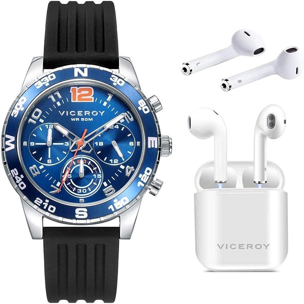 Reloj Viceroy Niño Pack 401217-35 + Auriculares Inalambricos