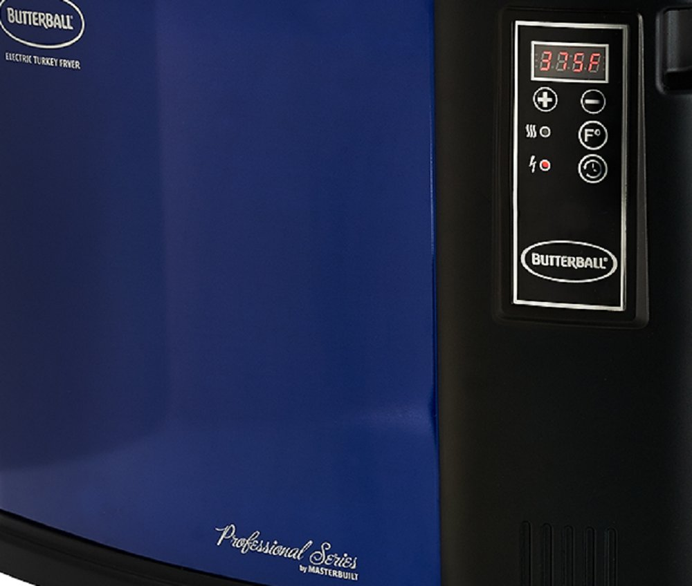 Masterbuilt Butterball XXL Digital Indoor Electric Turkey Fryer (Largest Capacity, Newest Model) (Blue)