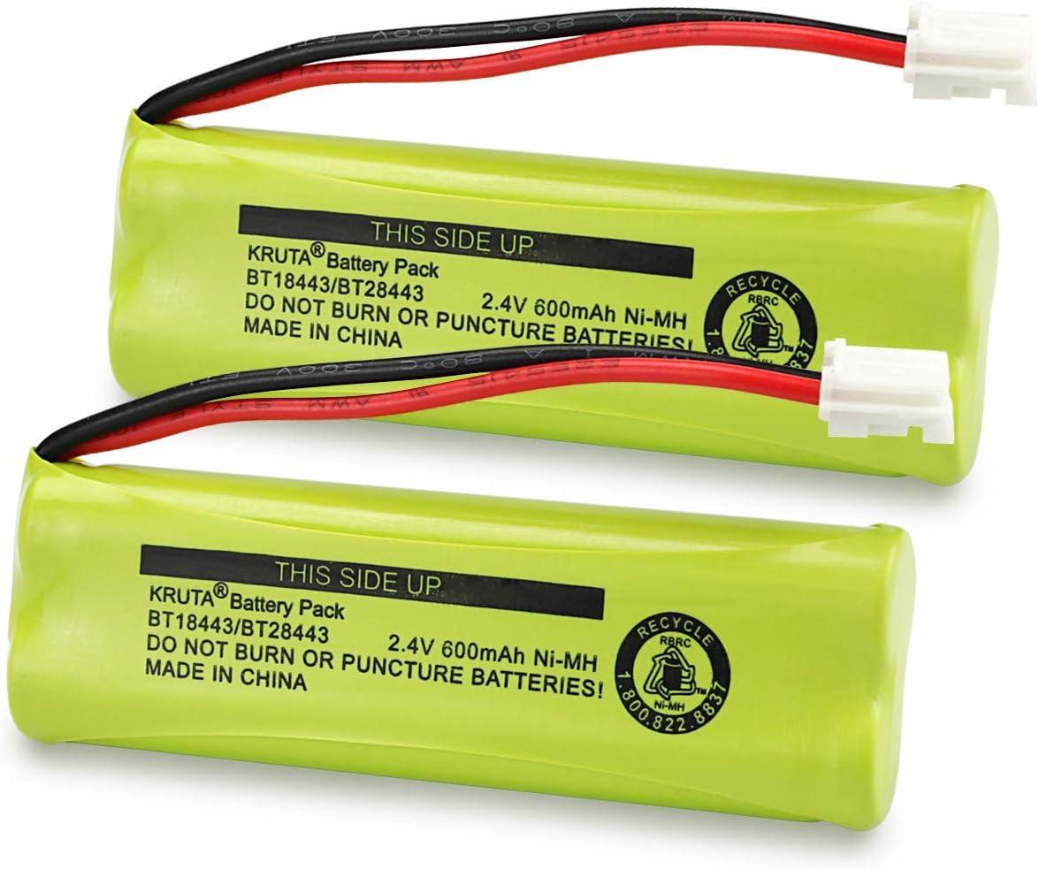 2 baterias BT18443 BT28443  VTech LS-6115 LS-6117 LS-6125