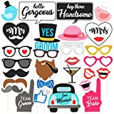Discount Retail Photo Booth Party Props - 30 Piece