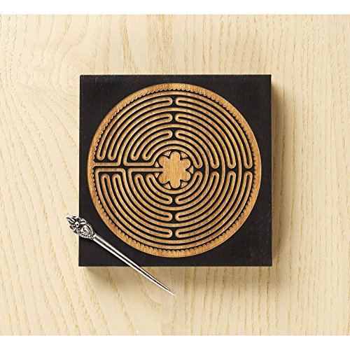 Chartres Cathedral Labyrinth - Personal Size - Laser Carv...