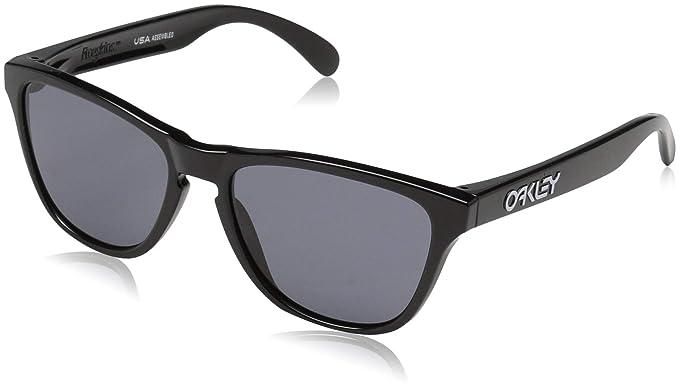 Oakley Frogskins, Gafas de Sol para Hombre, Negro, 53