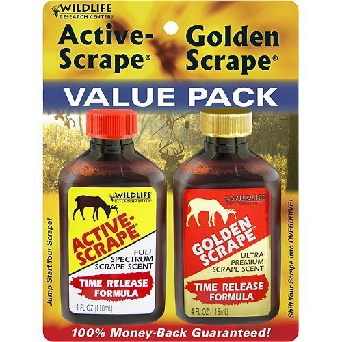 (Wildlife Research Active Scrape Golden Scent Combo)