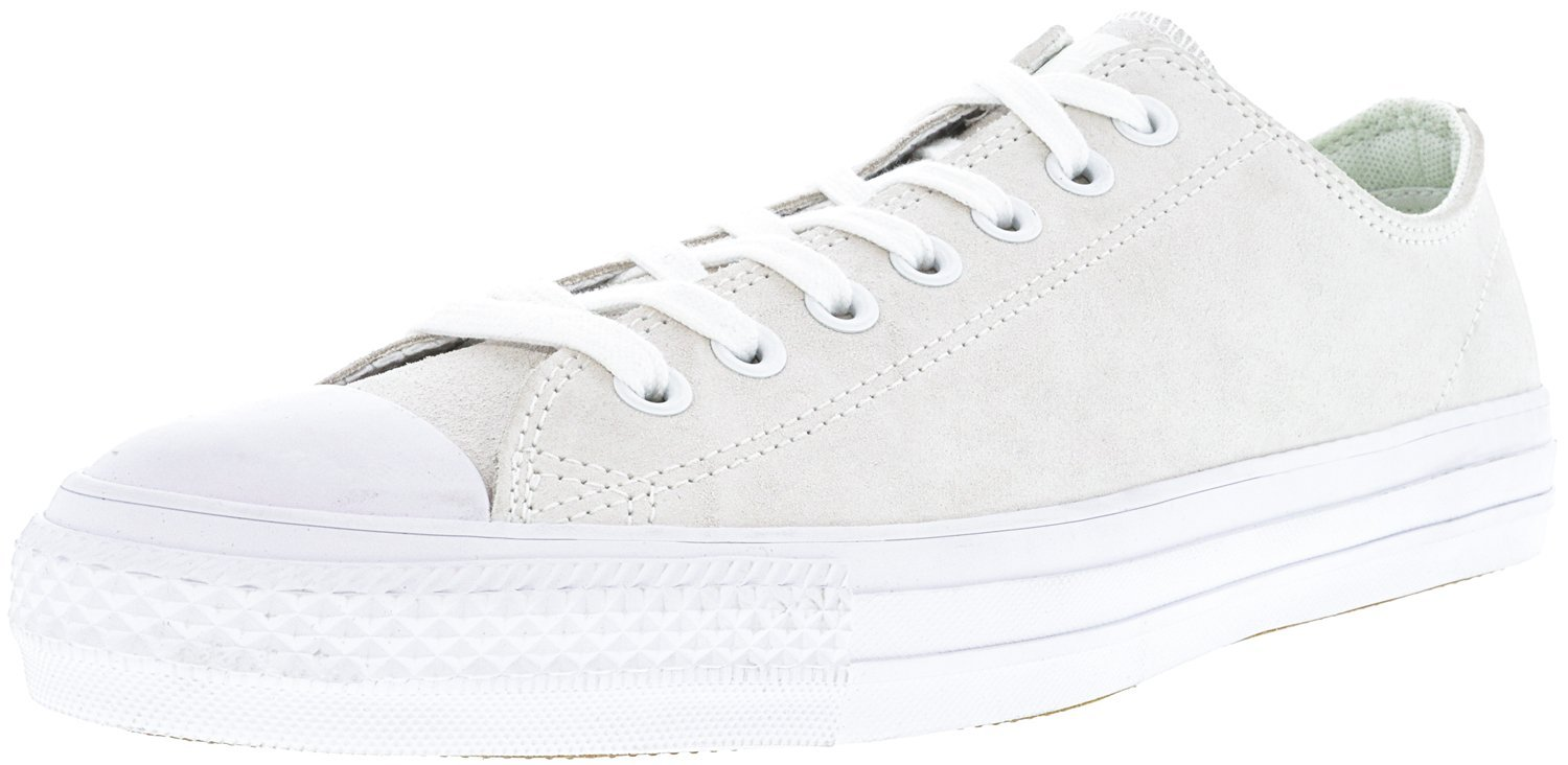 Converse Unisex Chuck Taylor All Star Pro Ox Casual Shoe 11 M US Women / 9 M US Men|White / White / Teal