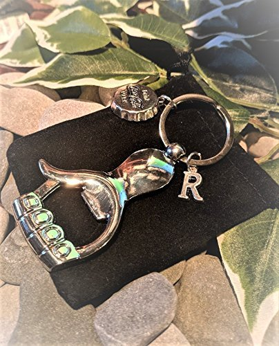 Handmade Silver Plated Thumbs Up Hand & Bottle Cap Bottle Opener Keyring. Fathers Gift. Personalised. Supplied in Gift Pouch. Gift Card included Free Of Charge.