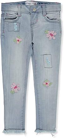 Freestyle Revolution Girls Pull-on Stretch Denim Jeans