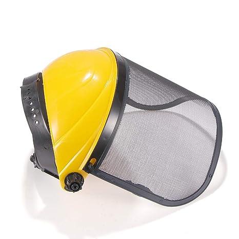 YChoice365 Casco de seguridad con protección facial completa ...