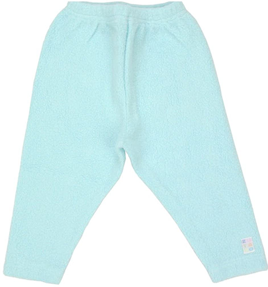 Baby 18-24 Months Zutano Aqua Unisex Fleece Leggings