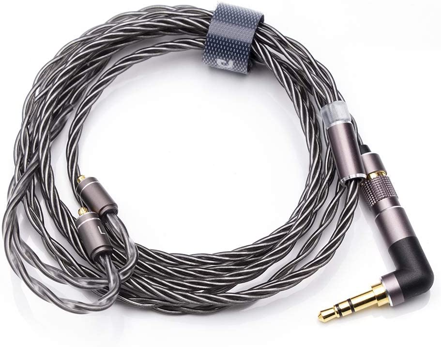 Linsoul DUNU DUW02 High-Purity Silver-Plated OCC Copper Litz Wire (MMCX)