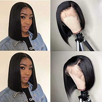 Careful Nabeauty Non-remy Brazilian Hair Body Wave Blonde Color Ear To Ear Lace Frontal Human Hair 613 Front 13x4 Middle And Free Part Lace Closures & Frontals
