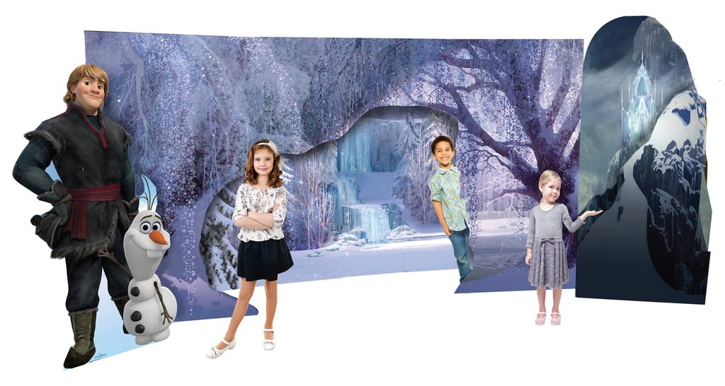 Frozen Scene - Disney's Frozen - Advanced Graphics Life Size Cardboard Standup by Advanced Graphics