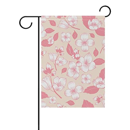 Amazon com : ClustersN Jasmine Flower Double-Sided Printed