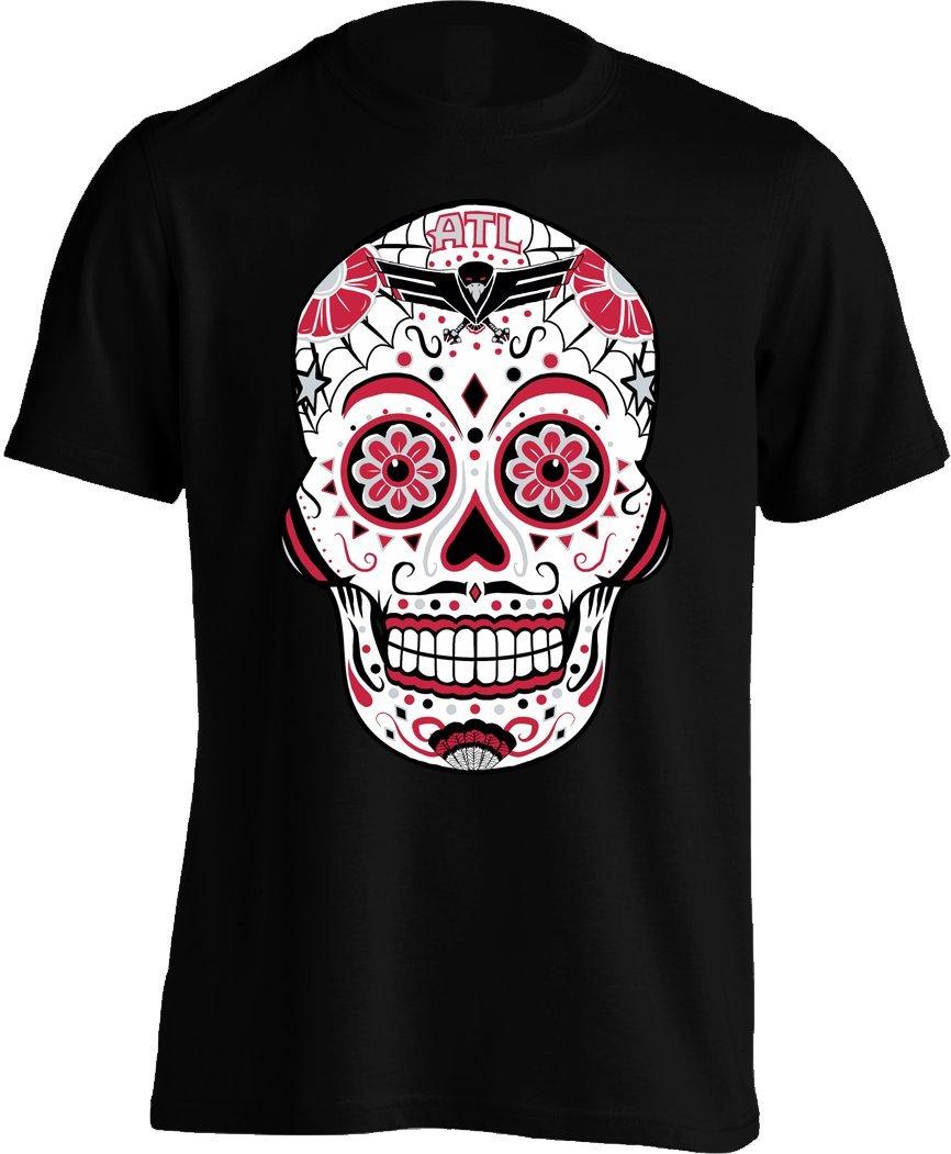 Americas Finest Apparel Falcon Sugar Skull Shirt S