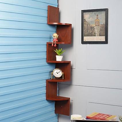 Bm Wood Furniture Wooden Wall Shelves Corner Wall Shelf For Living