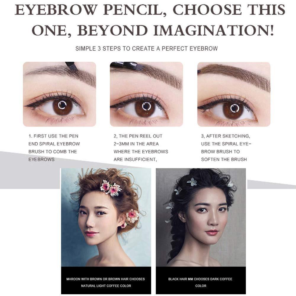 Amazon com : Gangglis Waterproof Eyebrow Tattoo Pen Fork Tip
