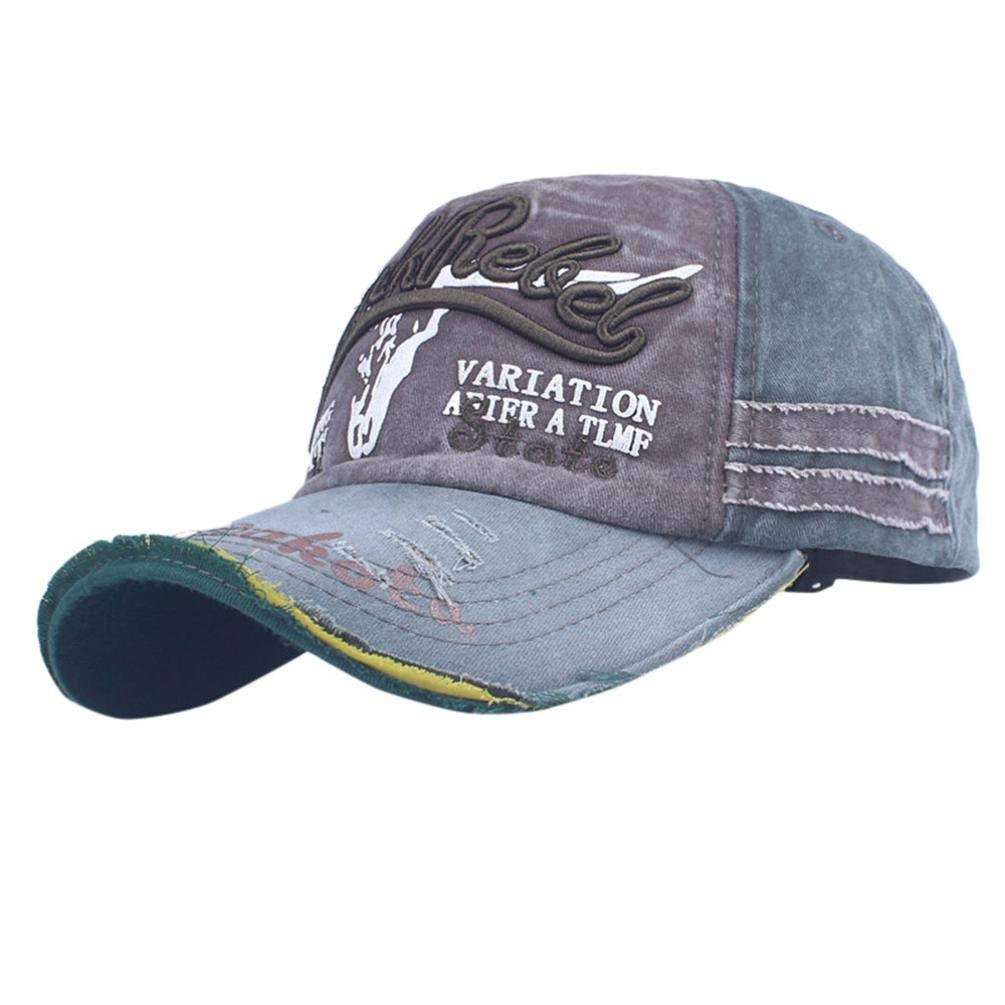 Summer Baseball Cap Unisex Men Women Packable Classic Sports Embroidered Flower Denim Baseball Hat Cap Snapback Hip Hop Flat Hat