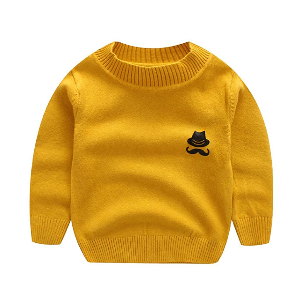 Happy angel Boys Little Kids Sweater Pullover Cotton Sweater