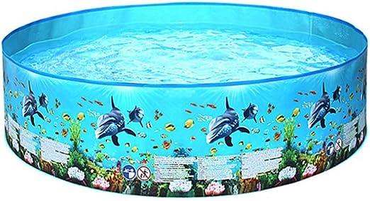 Yanten Piscina para jardín, Piscina Inflable para niños de PVC, Piscina Redonda, Piscina Infantil, Piscina de Verano (122 cm): Amazon.es: Jardín
