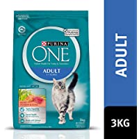 Purina One Adult Salmon & Tuna Dry Cat Food, 3.05 kilograms