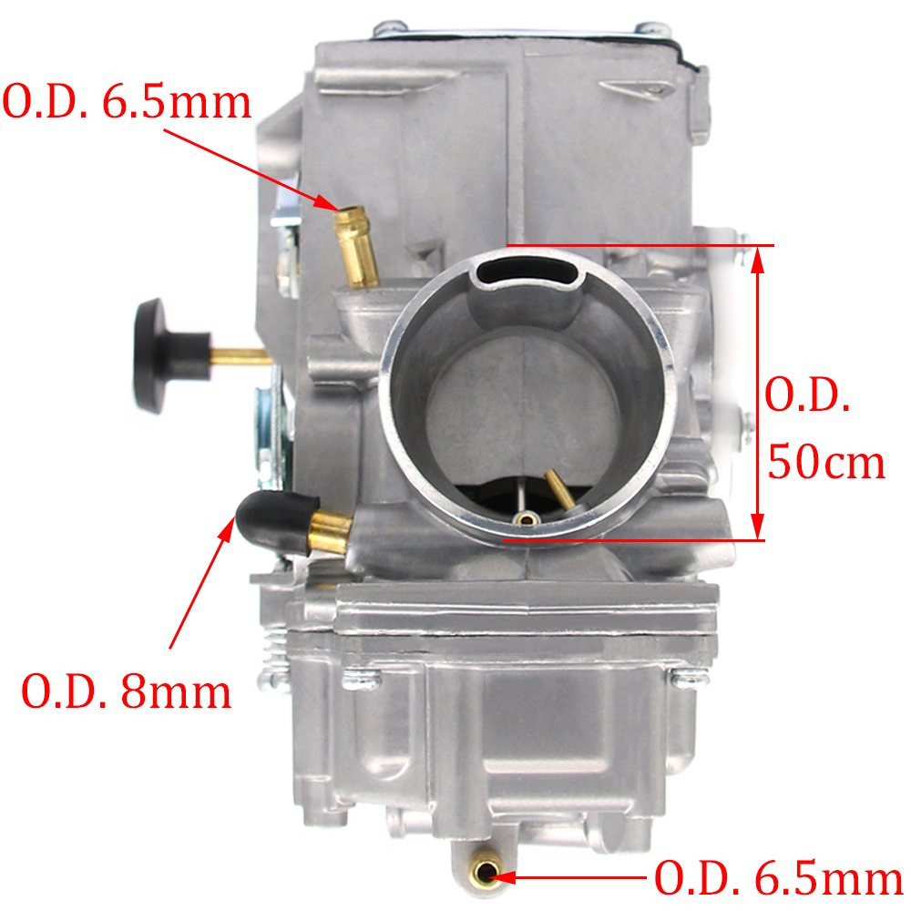 Carburetor For Yamaha Warrior 350 In Line Fuel Filters Big Bear 2x4 4x4 Atv 87 96 Yfm350 Wolverine Koaiak350 Bw350