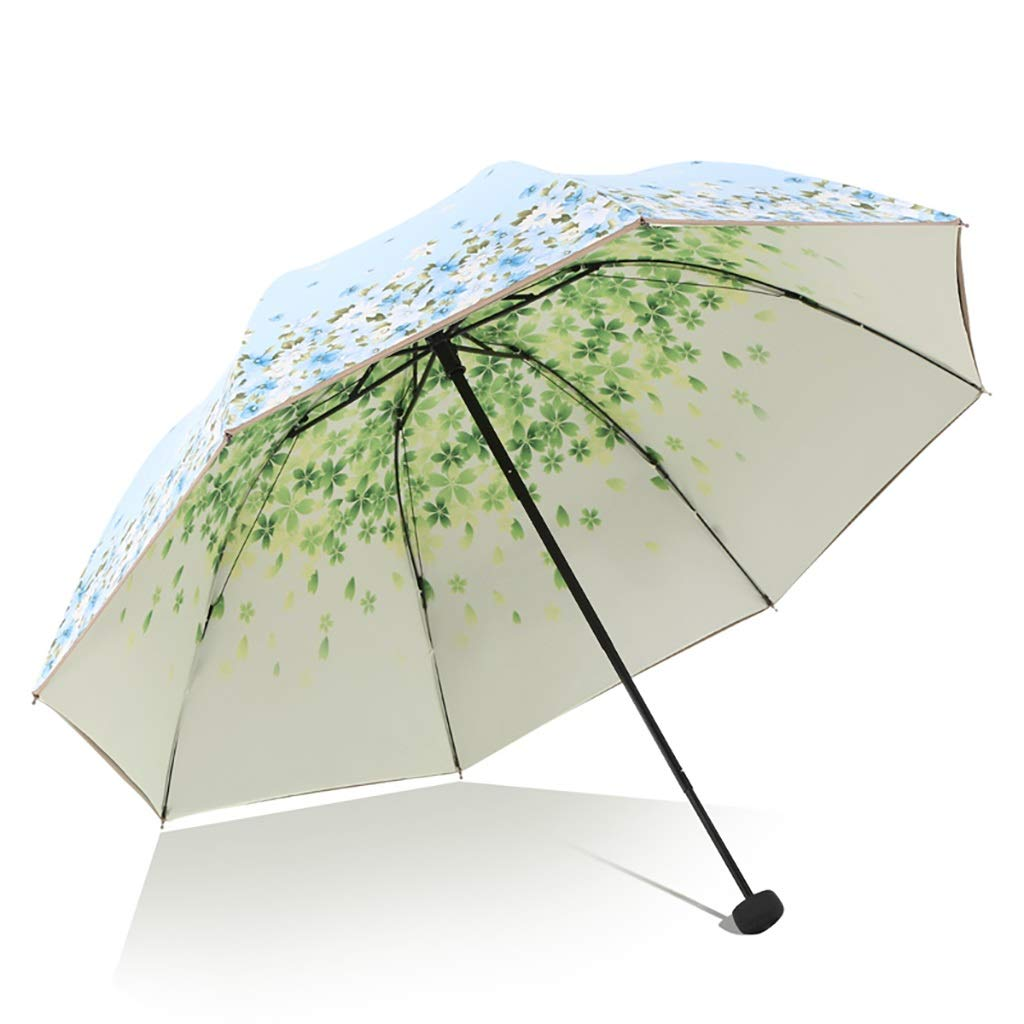 Umbrella Shi Hao Tian Manual Oversized Sun Protection and UV Protection Parasol Compact, Durable and Lightweight Multicolor Selection (Color : C)