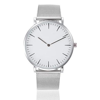 Reloj de pulsera de Pareja ❤ Amlaiworld Moda Relojes niña Reloj de pulsera clásico para